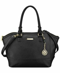 Anne Klein Jazzy Geo Medium Satchel - All Handbags - Handbags & Accessories - Macy's