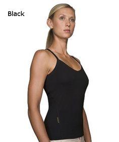Icebreaker Cross Cami 162 Black/Black - S, L en XL ** | Ondergoed/Lingerie | MOOSECAMPwebshop