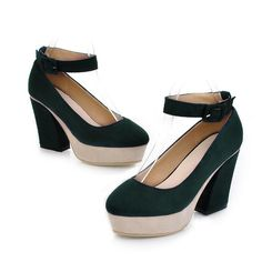 Aliexpress.com : Buy 2013 scrub fabric platform thick heel high heeled single shoes anti slip soles female shoes s0536 7 65 from Reliable golf shoes discounts suppliers on Find_fashion store . $26.13