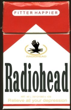 Radiohead - Fitter Happier Hahaha, whenever i play Radiohead my wife starts looking for rope and a tree? Rock Posters, Band Posters, Concert Posters, Music Posters, Trip Hop, Music Artwork, Art Music, Au Hasard Balthazar, Thom Yorke Radiohead