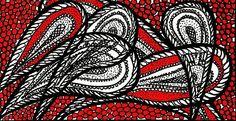 Fineliner - PAISLEY - KIRSTEN KOHRT ART - ein Designerstück von KIRSTEN-KOHRT-ART bei DaWanda