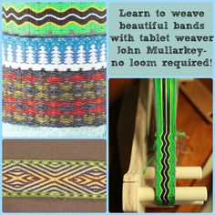 No loom required for this fun weaving method!