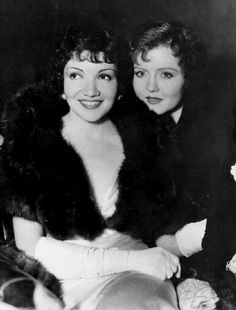 Claudette Colbert and Nancy Carrol