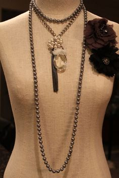 Glamour Girl necklace by HaveFaithDesigns on Etsy