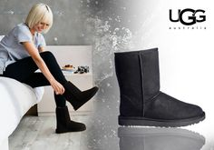 Το απόλυτο χειμερινό παπούτσι, η αυθεντική μπότα UGG σε μαύρο χρώμα! Μόνο 159,00€ Ugg