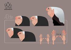 Hog Sisters by Marie Thorhauge, via Behance