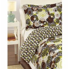 Vera Bradley Reversible Comforter Twin/Twin XL Cocoa Moss pattern. Used for a semester and a half, perfect condition. Pet and smoke free home. Also on ♏️erc cheaper. Make me an offer!! Vera Bradley Other