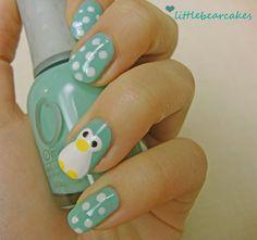 Penguin and polka dots