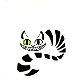 Cheshire Cat Tattoo by ~victizzle-mofo on deviantART   -Not for me, but cute and funny.