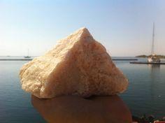 Amazing Big Peach Quartz, Raw Quartz Mineral Stone, Natural Gemstone Rocks, Rare Quartz Crystal #BS054# by MrsBeachComber on Etsy