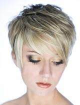 I love this style, very similar to what I've had in the past, only my hair is dark, with red highlights