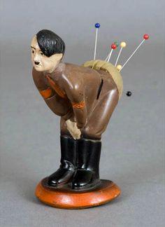 c.1941: Hitler Pin Cushion