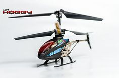 "New BLACK 9"" SJ-SERIES HELI 991 3.5 Ch RC Helicopter Builtin GYRO"