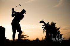 CREWS {SENIOR SESSION} | GOREVILLE HIGH SCHOOL CLASS OF 2017   golf senior session, high school senior golf, senior photography, Lake of Egypt Country Club, golf silhouette