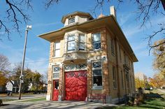 Dream house: a renovated fire station