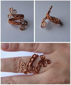 Wiggly Wires by sulyokjuli | Handmade wire jewelry | Page 4