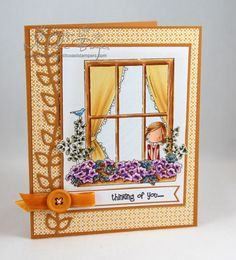thinking of you... by Shel9999 - Cards and Paper Crafts at Splitcoaststampers