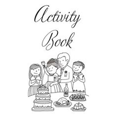 Bells Bouquets And Galveston Bay Wedding Activity Book For The Kiddos With Word Search Maze Coloring