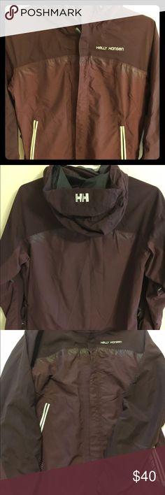 Helly Hansen Helly Tech Medium Jacket Helly Hansen Burgundy Helly Tech Medium Jacket for snowboarding/skiing. Gently used. Helly Hansen Jackets & Coats Utility Jackets