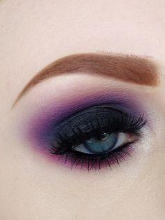 Imagen de makeup and purple