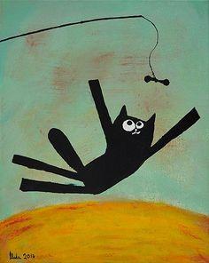 "OBRAZ ""ZABAWA"" 40x50 BCM #paint #paintings #acrylic #design #fun #childroom #art"