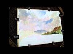 ▶ How to paint a loose sky with Alan Owen - YouTube