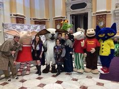 PTMer's & Friends all decked out to say goodbye at Storybook Ball!