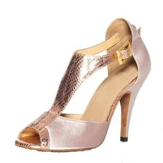 Flesh Satin Wome T Bars Ballroom Latin Dance Dance Shoes | Buy Wholesale On Line Direct from China