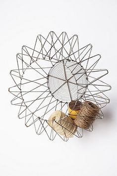 Handcrafted Accordion Basket #anthropologie