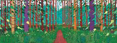 'the-arrival-of-spring-in-woldgate_-east-yorkshire-in-2011%c2%a9-david-hockney