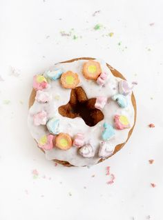 Just Because ... Marshmallow Treasure Donut ... I mean who needs a reason for such decadent yumminess  anyway? Not moi ...