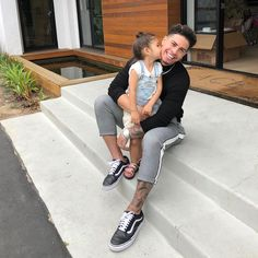 Everything We Know About Austin Mcbroom Cute Couple Outfits, Girl Outfits, The Ace Family Youtube, Ace Family Wallpaper, Cute Kids, Cute Babies, Austin And Catherine, Catherine Paiz, Baby Kiss