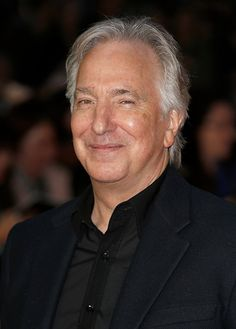 """Alan Rickman at London Film Festival supporting """"A Little Chaos"""" 