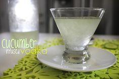 cucumber infused vodka
