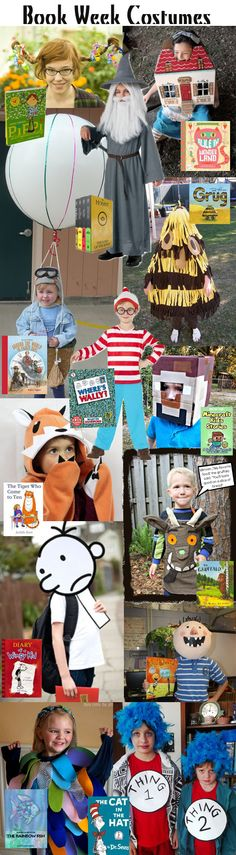 KidStyleFile Loves Kids Books : Book Week 2014 Costume Ideas (You Are My Favorite Printable) Book Costumes, World Book Day Costumes, Costume Ideas, Literary Costumes, Diy Costumes, Character Dress Up, Book Character Day, Storybook Character Costumes, Storybook Characters
