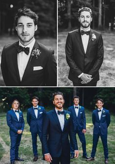 From the previous pinner - fabulous blue! : South Island Wedding by Paul Tatterson