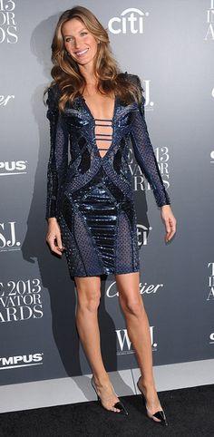 "Gisele Bundchen in Atelier Versace - WSJ. Magazine's ""Innovator of the Year"" Awards 2013"