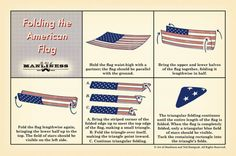 How to Fold the American Flag Clean, simple and relevant. The Art of Manliness has been creating great content for years. Brownie Girl Scouts, Girl Scout Troop, Cub Scouts, American Heritage Girls, American Flag, American History, Girl Scout Juniors, Daisy Scouts, Scout Activities
