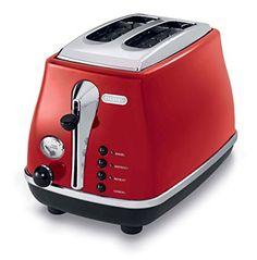 De'Longhi CTO2003R 2-Slice Toaster