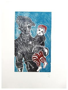 billy childish - with scout, 2012