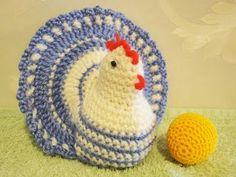 Пасхальная курочка Easter chicken Crochet, My Crafts and DIY Projects Crochet Birds, Easter Crochet, Cute Crochet, Crochet Animals, Crochet Doilies, Knit Crochet, Crochet Kitchen, Crochet Home, Candy Crafts