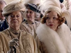 Historical style: Downton Abbey