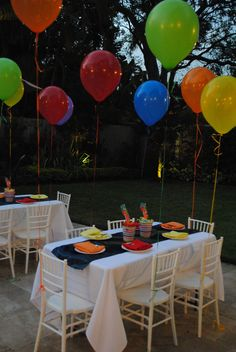 Disney Up Themed Birthday Party by Divine Milestones Inc. www.DivineMilestones.com