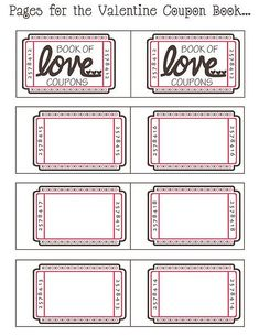The extraordinary Coupon Book Ideas For Husband. Blank Love Coupon Templates With Regard To Blank Coupon Template Printable pics below, … Coupon Books For Boyfriend, Coupons For Boyfriend, Presents For Boyfriend, Free Printable Coupons, Templates Printable Free, Free Printables, Free Coupon Template, Printable Tickets, Birthday Coupons