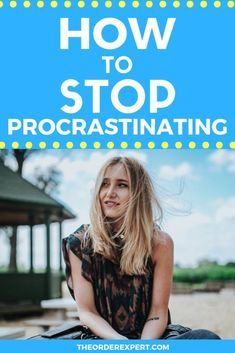Wondering how to stop procrastinating? Learn how to get things done with this collection of seven practical tips. Time Management Plan, Effective Time Management, Time Management Strategies, Importance Of Time Management, Management Tips, Getting Organized At Home, Getting Rid Of Clutter, Office Organization At Work, Housekeeping Tips