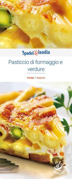 Pasticcio di formaggio e verdure Best Comfort Food, Lasagna, Mashed Potatoes, Dishes, Ethnic Recipes, Easy, Lasagne, Whipped Potatoes, Plate