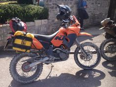 KTM 640 Adventure.