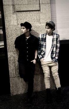Jai & Luke Brooks Twins=double the attractiveness