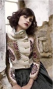 Anthropologie 2008 Piazza Lucca Cardigan Cropped Sweater Jacket Top by Sleeping on Snow's