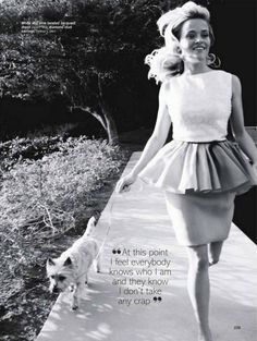 """At this point I feel everybody knows who I am and they know I don't take any crap."" - Reese Witherspoon"